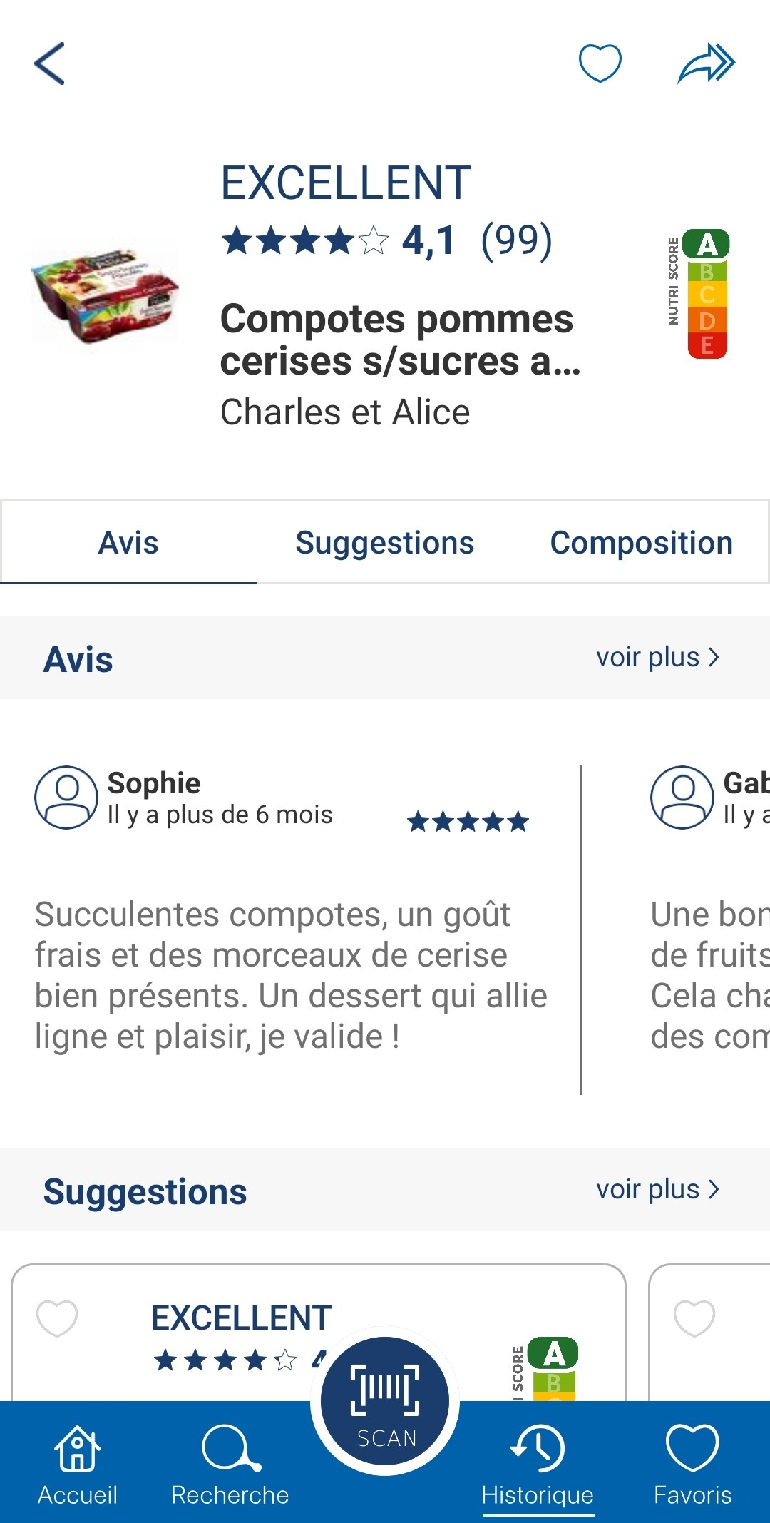 compotes charles &  alice